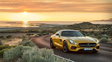 2016 Mercedes AMG GT Wallpaper · iBackgroundWallpaper