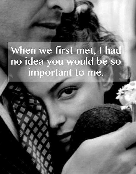When We First Met Quote Picture