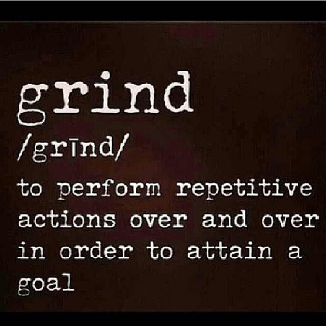 A Slave To The Grind Fibertown Blog