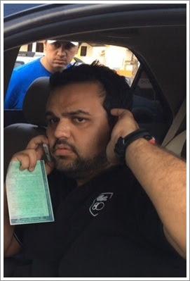 O médico Marcos André Carneiro Salomão, de 24 anos foi conduzido para Pedrinhas