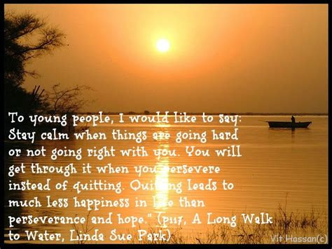 The Long Walk Home Odessa Quotes