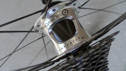 Power tap wheel