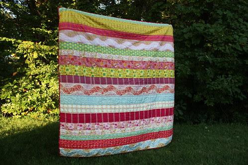{urban} HOME goods swap quilt
