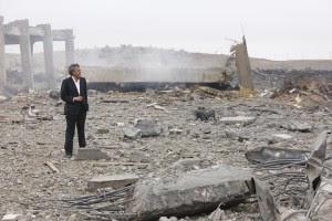 Bernard-Henri LeŽvy in Libya, March 2011. Source: http://www.bernard-henri-levy.com