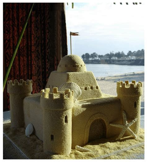 CakeChannel.com   World of Cakes: Sand Castle Wedding Cake