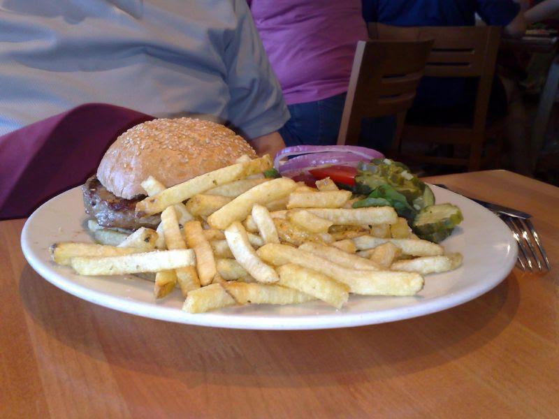 Free Range Turkey Burger