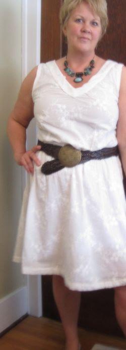 AMH Socialite Dress White