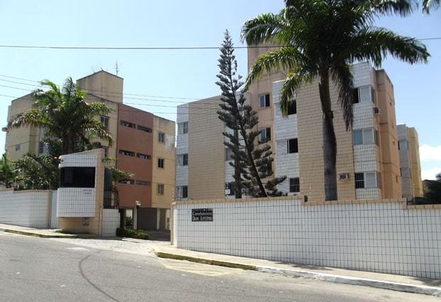 Condomínio onde o corpo do bebê foi encontrado (Foto: Fernanda Zauli/G1)