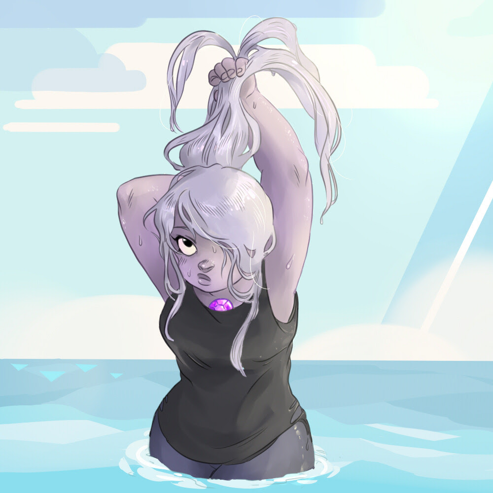 Sea time for Amethyst