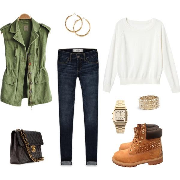 Timberlands Outfit speciaal voor Laura