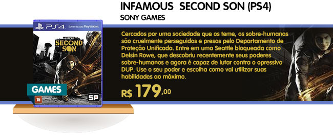 INFAMOUS - SECOND SON (PS4)