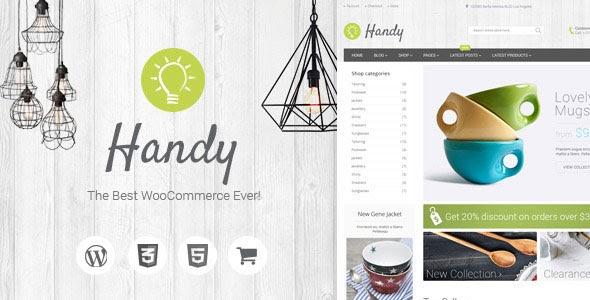 Handy v5.0.14 - Handmade Shop WordPress WooCommerce Theme