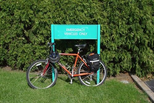 Arnett Clinic Has No Bike Rack