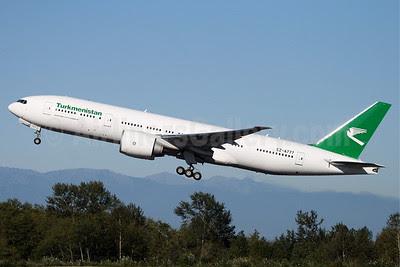 Turkmenistan Airlines Boeing 777-22K LR EZ-A777 (msn 39548) PAE (Nick Dean). Image: 905372.