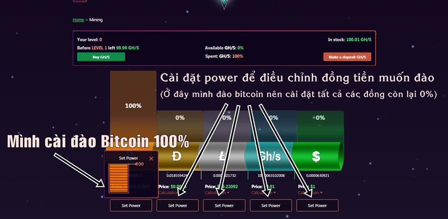 dao-bitcoin-mien-phi-voi-fleex