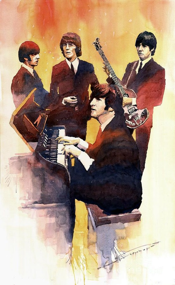 Lovely Beatles Artworks to Appreciate (26)