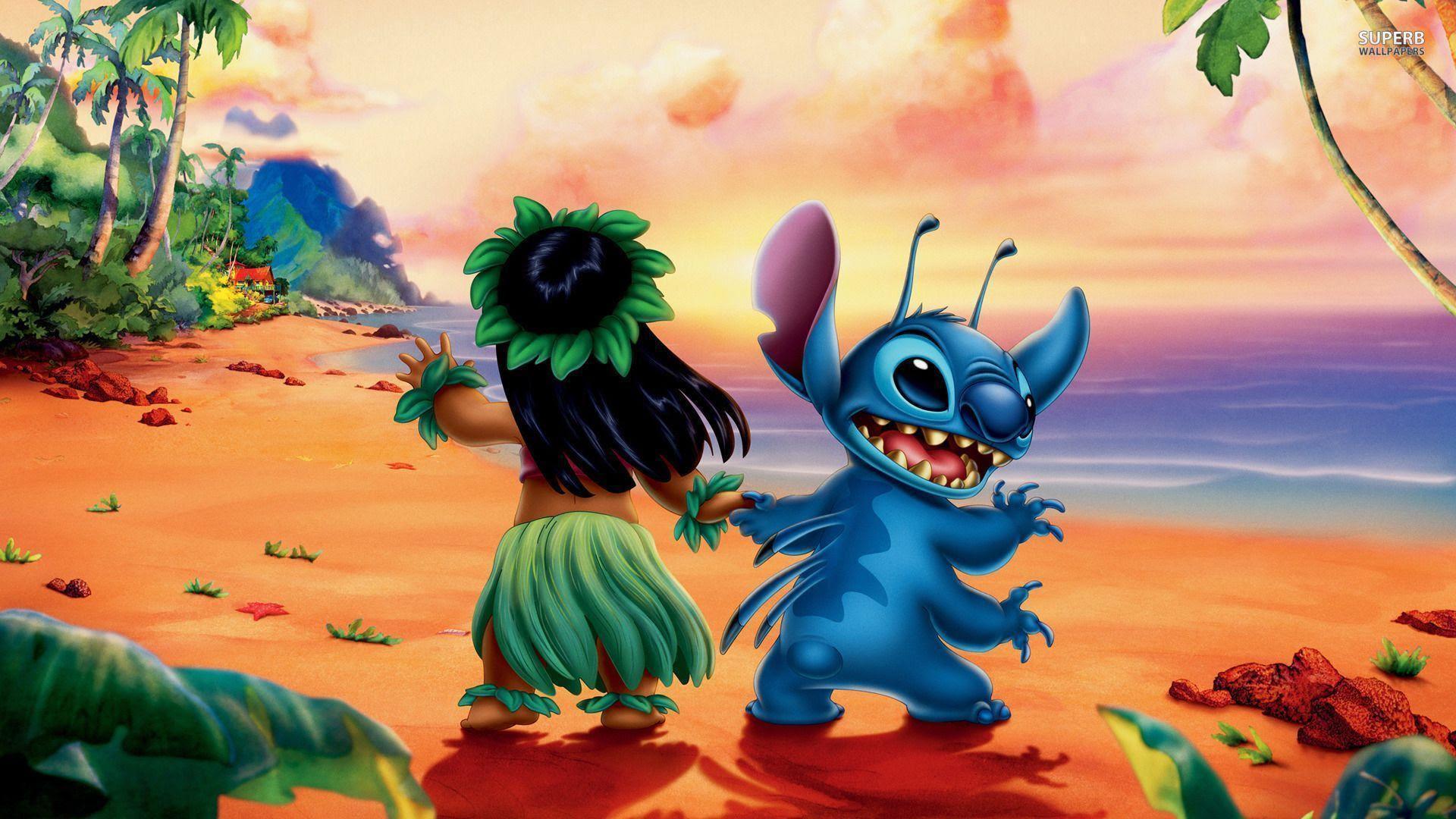 Disney リロ アンド スティッチ Lilo Stitch スマホ Pc
