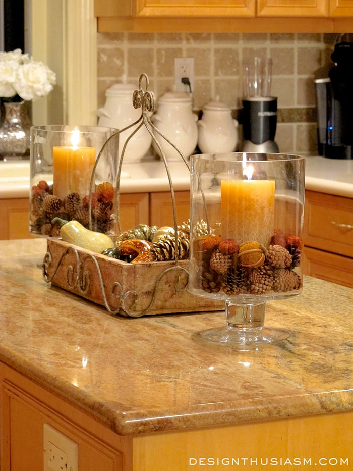 Autumn Warmth In Your Kitchen - Centerpiece