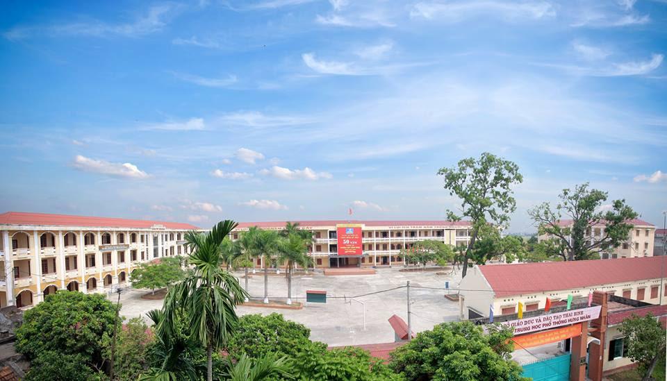 Trường THPT Hưng Nhân ngày nay