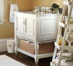 Apothecary Single Sink Console
