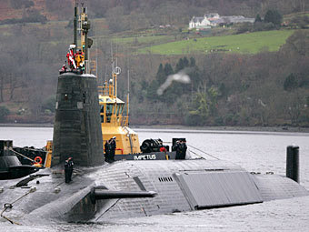 """Атомная подводная лодка типа """"Вэнгард"""". Фото Reuters"""