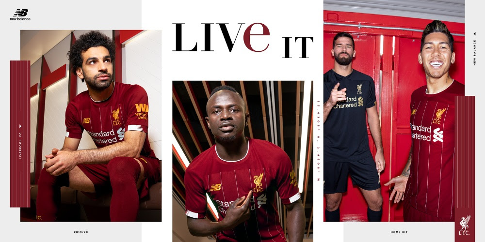 Liverpool 2019/20 Home Jersey Revealed - Soccer365