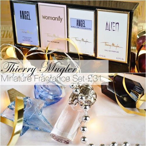 Thierry Mugler Miniature fragrance set
