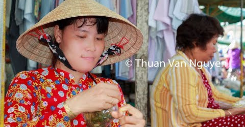 Vietnam || Tieu Can Rural Market || Tra Vinh Province