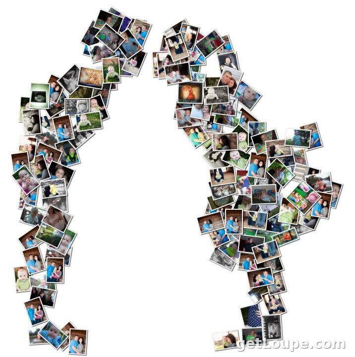 All Because Two People Fall In Love Loupe Collage Loupe