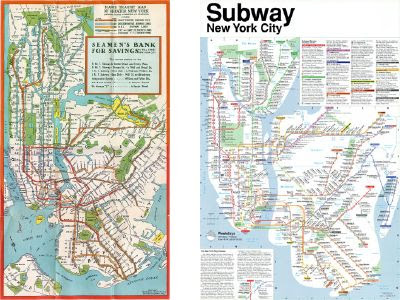 New York subway maps