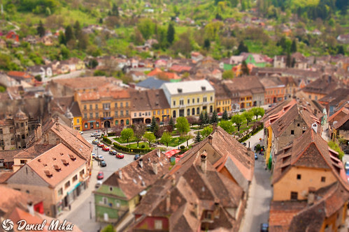 Miniature town