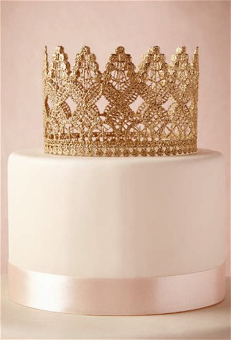 Devour the Details: Crown Cake Toppers, Celebrate Like Royalty