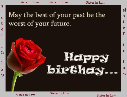 Happy Birthday Wishes Quotes For Sister In Law With Images