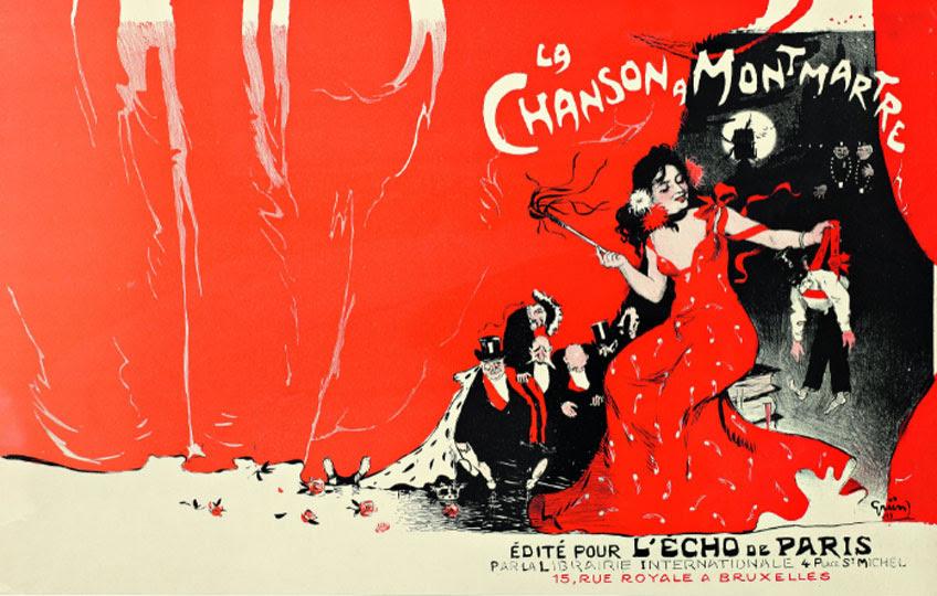 Jules Grün. La canción de Montmartre, 1900. Colección particulae