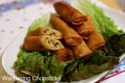 Cha Gio Chay (Vietnamese Vegetarian Egg Spring Rolls) 1