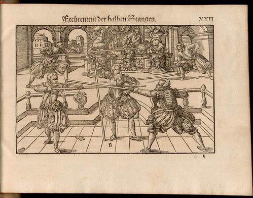 Joachim Meyer - Gründtliche Beschreibung des Fechtens 1570h