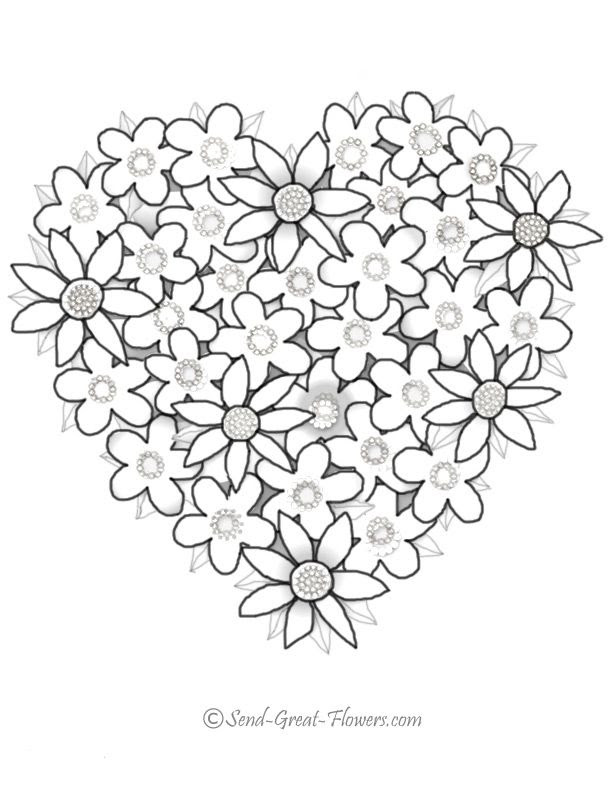 Free Valentine Heart Coloring Pages Download Free Clip Art Free Clip Art On Clipart Library