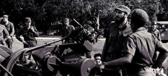 Fidel en los días de la crisis de octubre. Foto: Archivo.