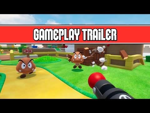 ¿Cómo se vería Super Mario Bros si fuera un shooter en primera persona?