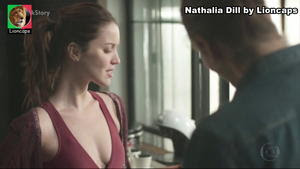 Nathalia Dill sensual na novela Rock Story