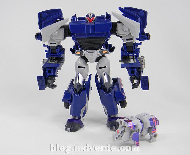 Transformers Breakdown Voyager - Prime Arms Micron - modo robot