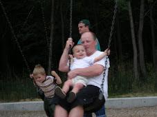Micah & Daddy Swinging