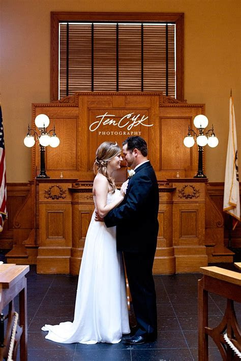 Simply Married   Jen CYK Photography   Courthouse wedding