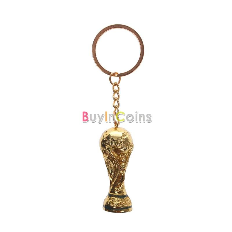 1pcs 2014 New Hot World Cup Trophy Soccer Football Replica Key Chain