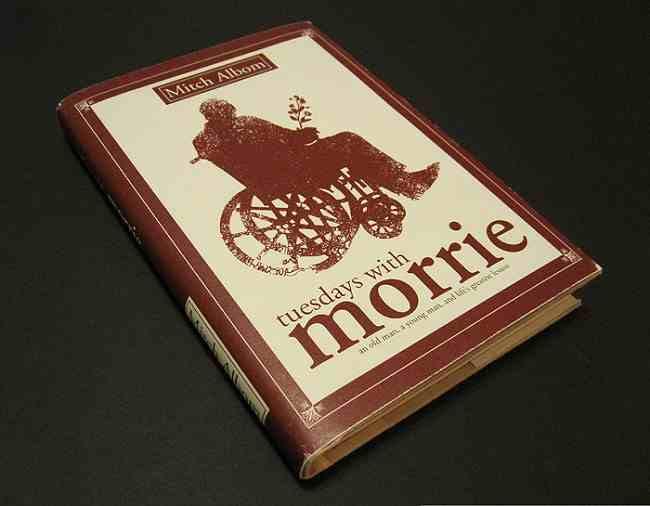 أيام الثلاثاء مع موري - الكتب الاكثر مبيعا في التاريخ