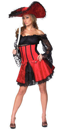 Pirate wench - Costume