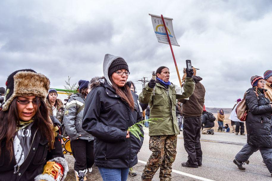 Standing Rock water protectors