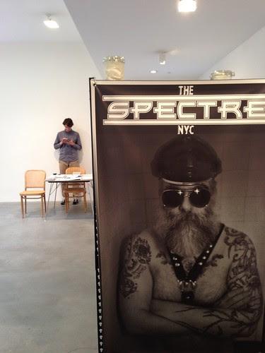 Matthew Marks Gallery, photo of Nayland Blake installation