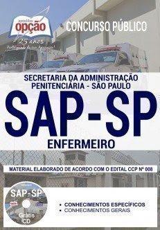 Apostila Concurso SAP SP 2018 | ENFERMEIRO