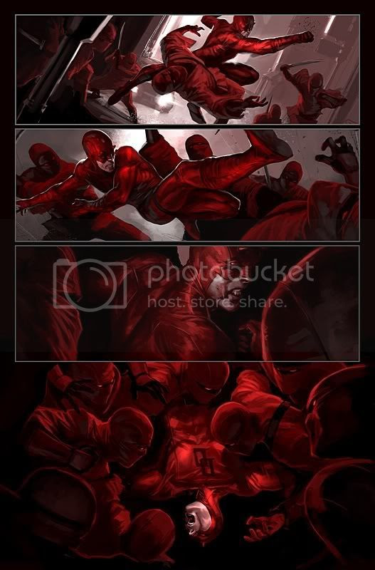 Daredevil 100 artists